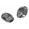 Swarovski Stones 4470 Square 10mm Silver Night Crystal 144p